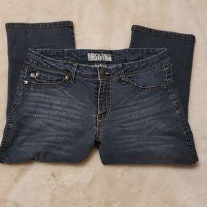 17/21 Exclusive Denim Jean Capris Size 10